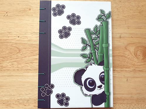 Panda Bamboo Journal (A6/A5 size)