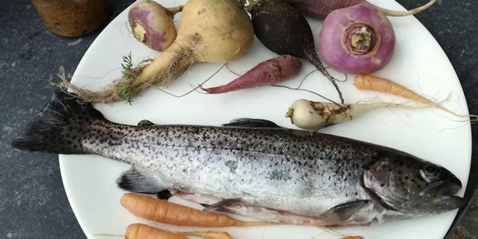 WORKSHOP Fermentiertes Gemüse trifft Biologischen Fisch
