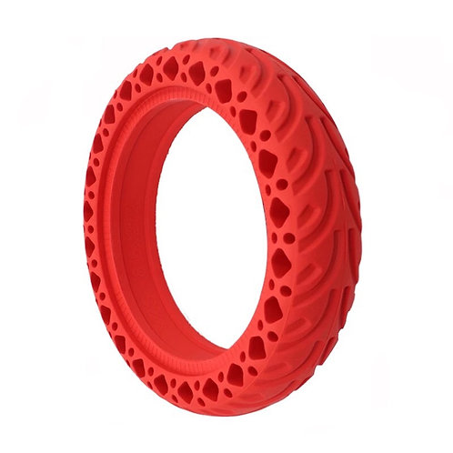 8.5 Solid honeycomb solid rubber tyres