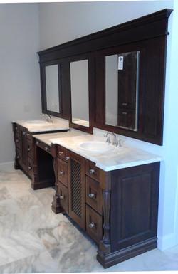 Coastal Oaks vanity