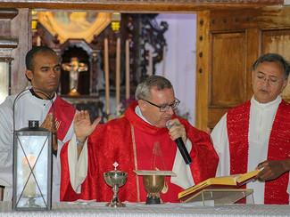 Primeiro aniversário de sacerdócio celebrado no Brasil