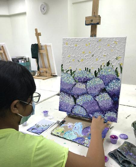 2 Weeks Acrylic Painting Workshop
