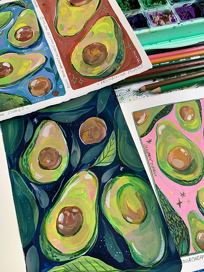 OH MY GOUACHAMOLE - A Pattern Illustration Workshop