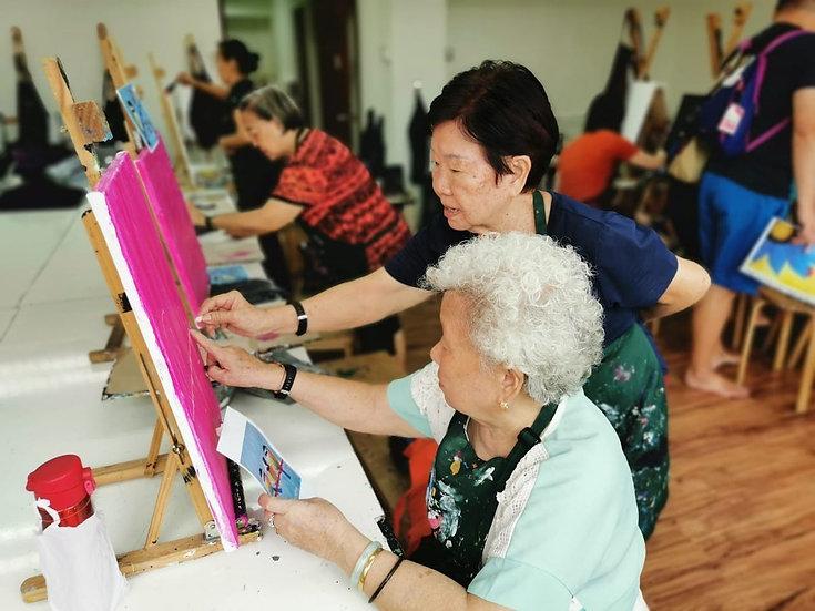 Regular Senior Art Class