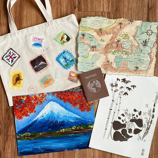Camp Traveller! (2-Day Art Camp)