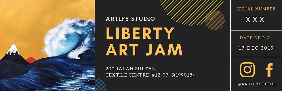 Gift Voucher (Liberty Art Jam)