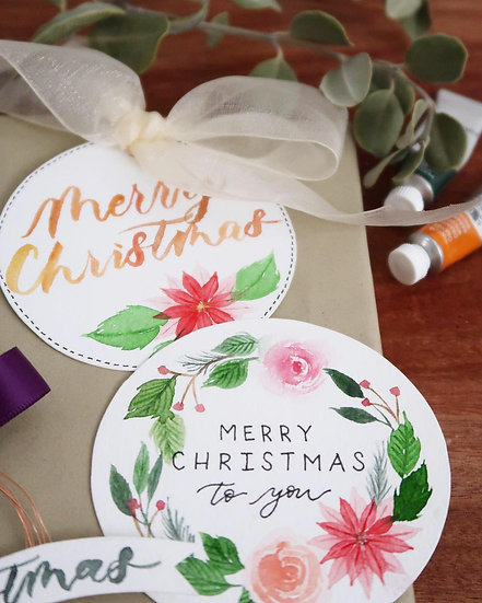Mommy & Me - X'mas Loose Florals Class