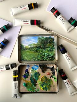 Arti:dote (Miniature Acrylic Painting)