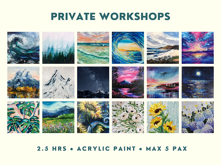 Private Workshops/Parties