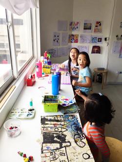 art jamming for kids