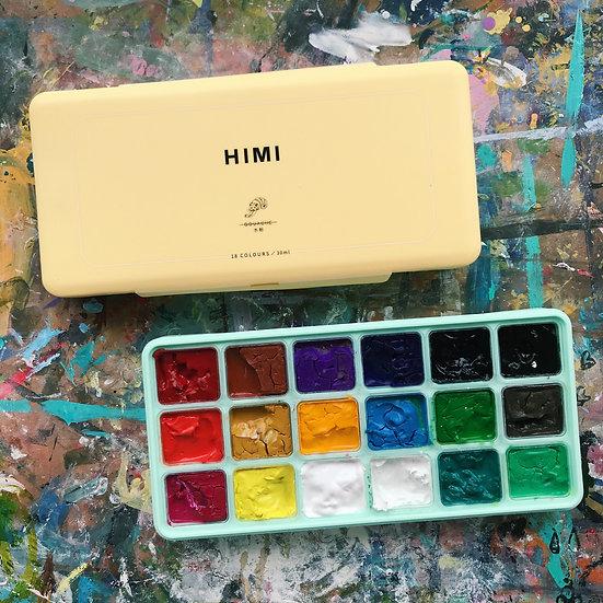 18-Colours Gouache Paint Set