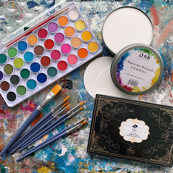 Watercolour Bundle
