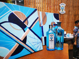 Off-site Art Jam for Bombay Sapphire