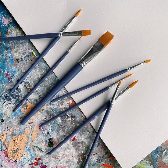 Watercolour Brush Set (8-pc)