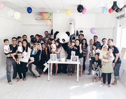 Lovely afternoon celebrating little Ilhan's first birthday! _What better way to celebrate life than