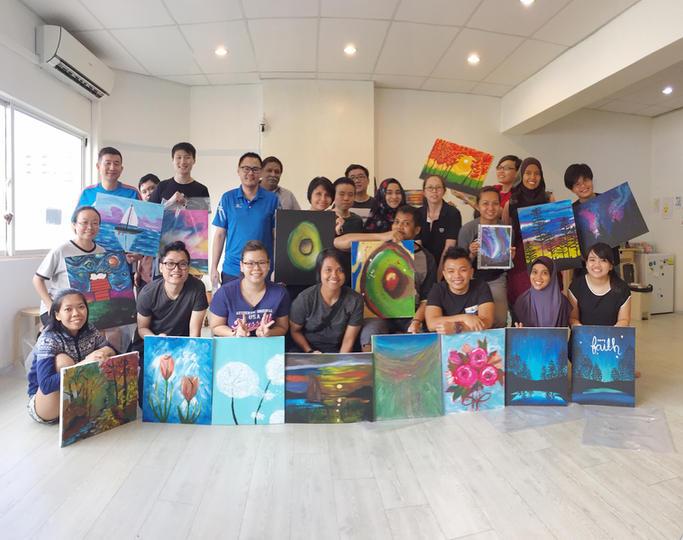Corporate Art Jam