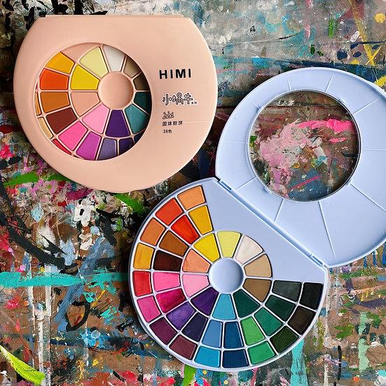 38-Colours Watercolour Set