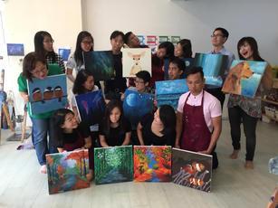 Team Bonding Art Jamming