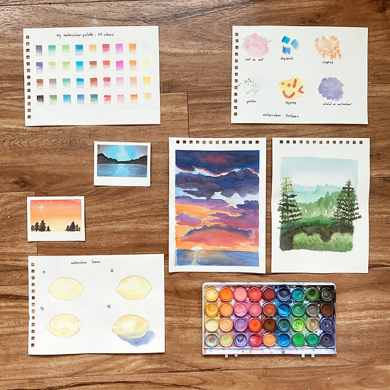 World of Watercolour (1-Day Art Camp)