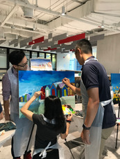 Corporate Art Jam (Off-site - Group Painting)