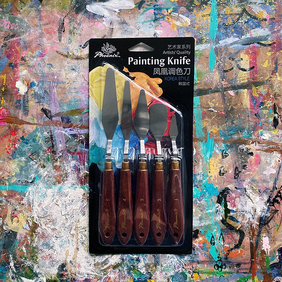 Palette Knife Set (5-pc)