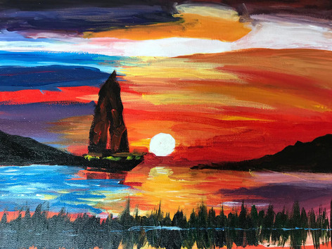 Sunset [SOLD!]