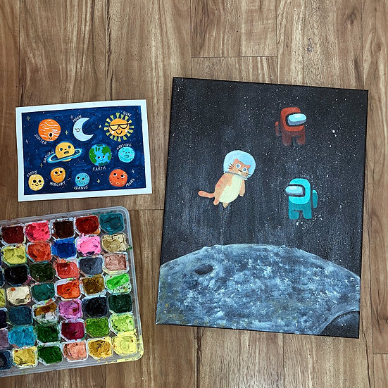 Space Out! (Half-Day Art Camp)