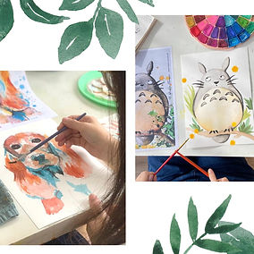 Watercolour Experience_Artify Studio_Liberty Fest