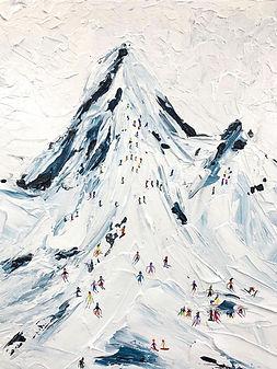 Alps Palette Knife_Artify Studio_Liberty Fest