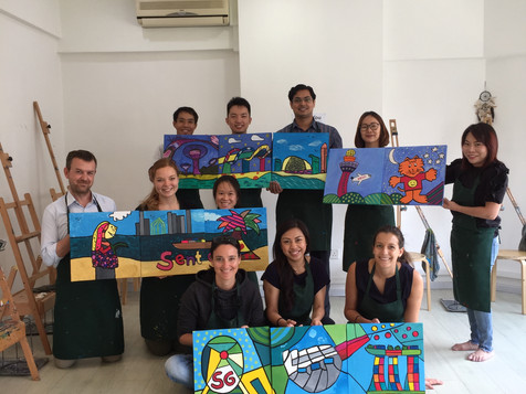Corporate Art Jam with BMW Asia