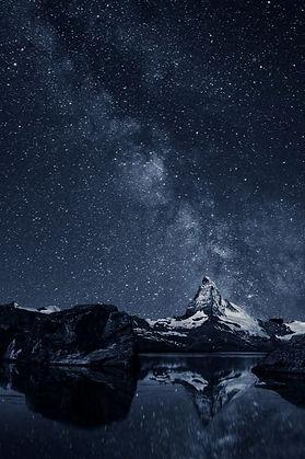 Galaxy Mountain (Acrylic Painting Workshop)