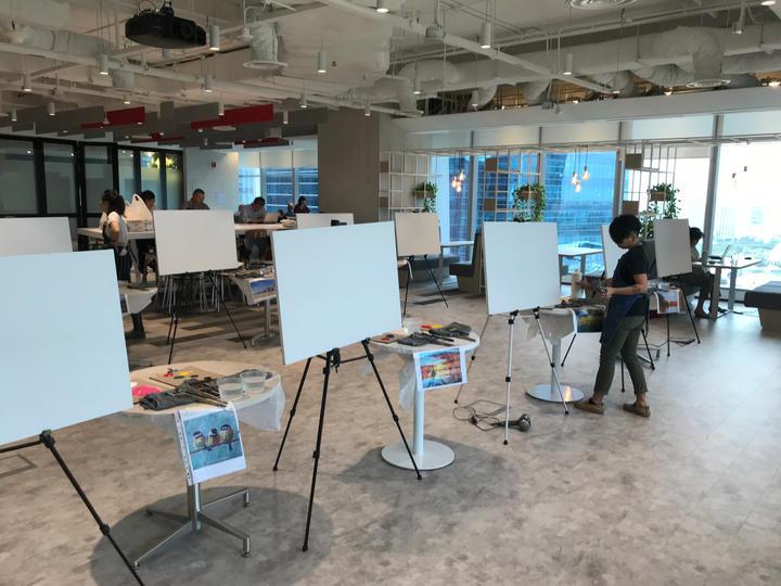Corporate Art Jam (Off-site)