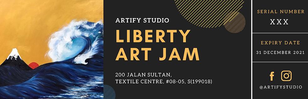 Gift Voucher (Liberty Art Jam)