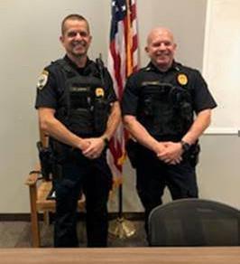 Lt. Marc Plourde & Lt. Charlie Ward