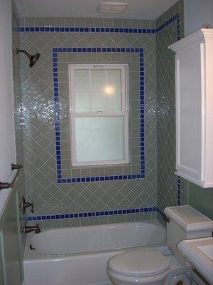 Bathroom Custom Tiling