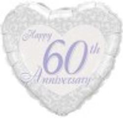 Happy 60th Anniversary Heart