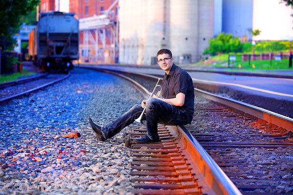 Trumpet Senior Photo