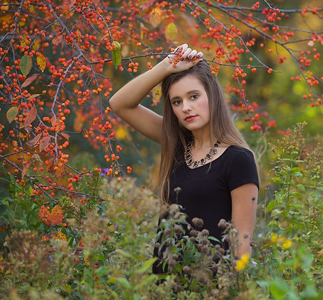 Fall Photography Senior Portrait