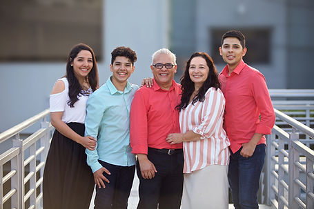 Latino Family Photo