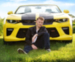 Men's Senior Photos with Camaro