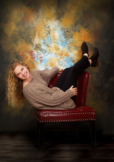 Indoor Senior Picture