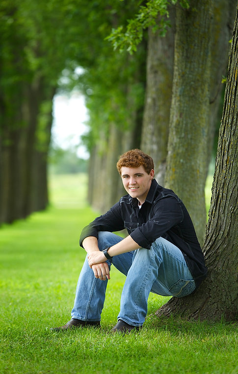 Outdoor Senior Photo