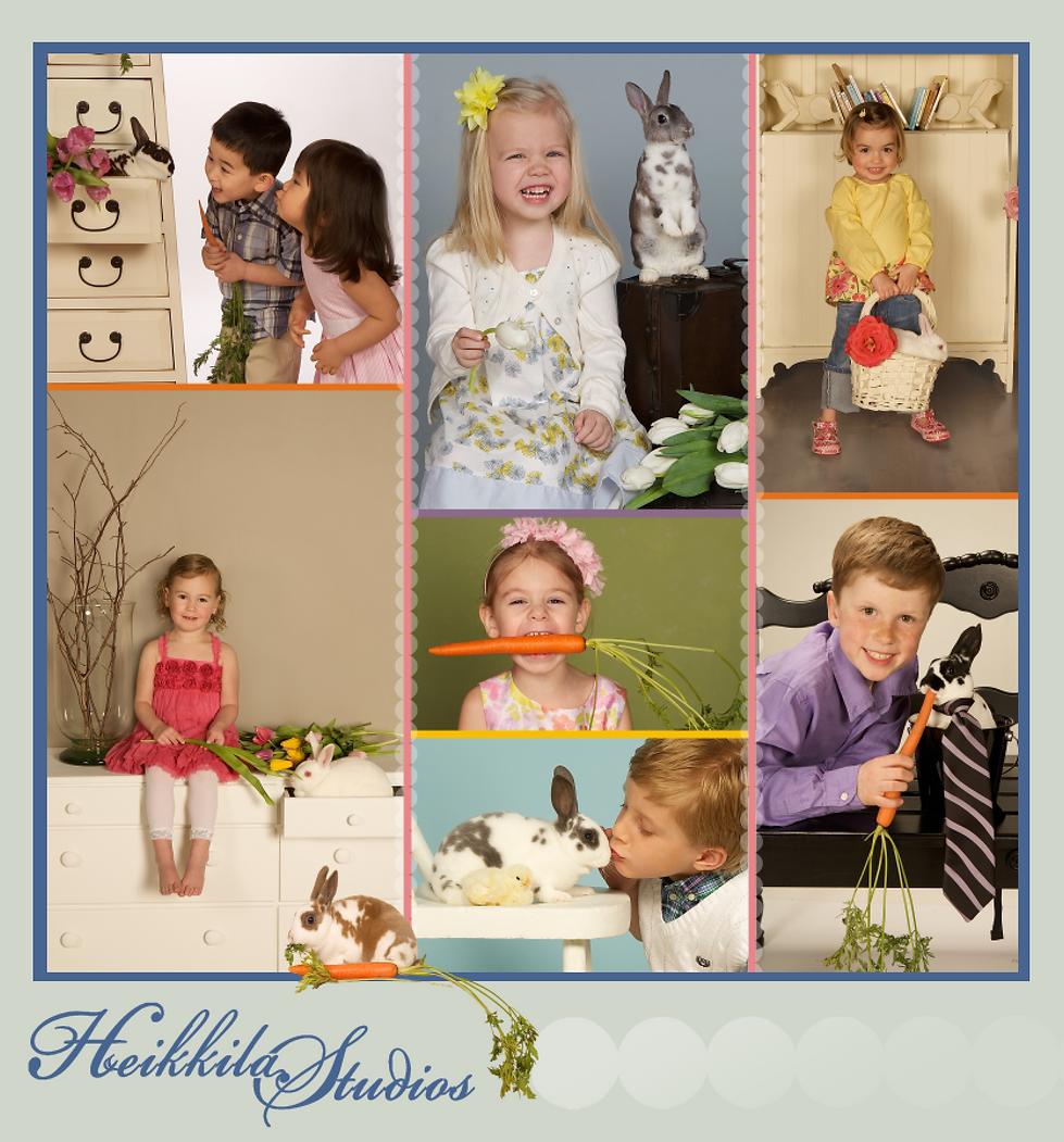 Easter Bunny Children Photos