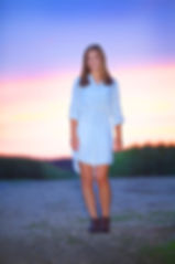 Beautiful Sunset Senior Photos
