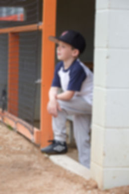 Baseball Kid Photo