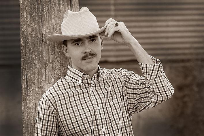 Senior Cowboy Photo
