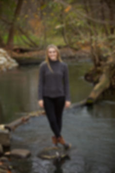 Senior Photo by the River