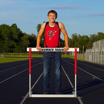 Track and Field Senior Photo