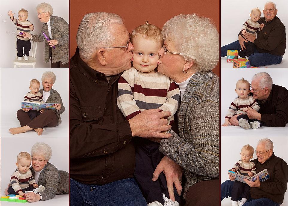 Grandparents and Grandson Photo