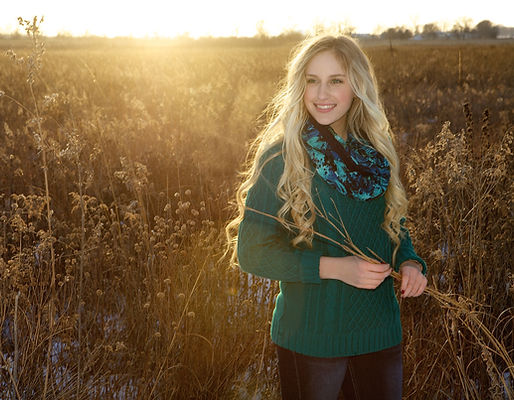 Winter Senior Photo
